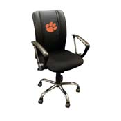Clemson Tigers Collegiate Curve Task Chair