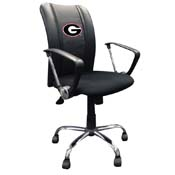 University of Georgia Bulldogs Curve Task Chair