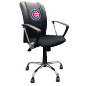 Chicago Cubs MLB Curve Task Chair