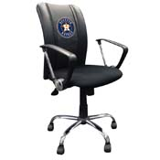 Houston Astros MLB Curve Task Chair