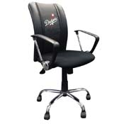 Los Angeles Dodgers MLB Curve Task Chair