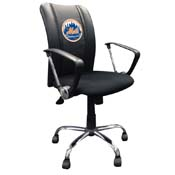 New York Mets MLB Curve Task Chair