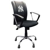 New York Yankees MLB Curve Task Chair