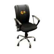 Chicago Blackhawks NHL Curve Task Chair
