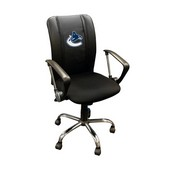 Vancouver Canucks NHL Curve Task Chair