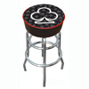 Four Aces Club Logo Padded Bar Stool