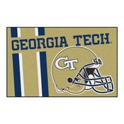 Georgia Tech Uniform Inspired Starter Rug 19x30