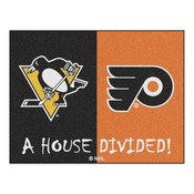 House Divided - Penguins/Flyers Mat 33.75