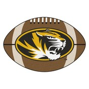 Missouri Football Rug 20.5x32.5