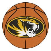 Missouri Basketball Mat 27 diameter