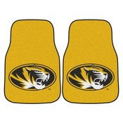 Missouri 2-piece Carpeted Car Mats 17x27