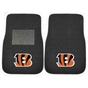 NFL - Cincinnati Bengals 2-pc Embroidered Car Mat Set 17