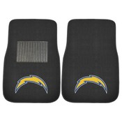 NFL - Los Angeles Chargers 2-pc Embroidered Car Mat Set 17