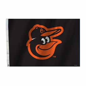 Baltimore Orioles 2 Ft. X 3 Ft. Flag W/Grommetts