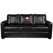 Texan Flag Silver Sofa