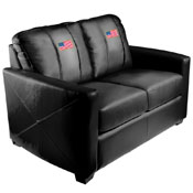 American Flag Silver Love Seat