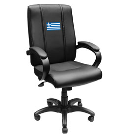 Greek Flag Office Chair 1000