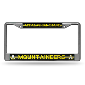 Appalachian State Bling Chrome Frame