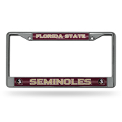 Florida State Bling Chrome Frame