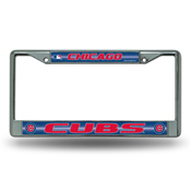 Cubs Bling Chrome Frame