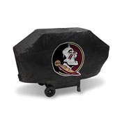 Florida State Deluxe Grill Cover (Black)