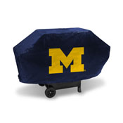 Michigan Deluxe Grill Cover (Navy)
