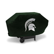 Michigan State Deluxe Grill Cover (Green)