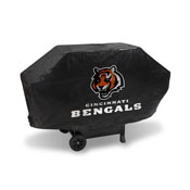 Bengals Deluxe Grill Cover (Black)