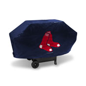 Red Sox Deluxe Grill Cover (Navy)
