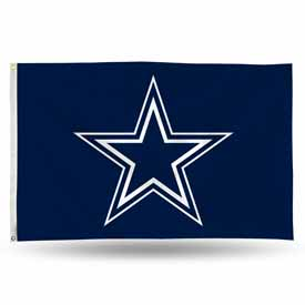 Dallas Cowboys Banner Flag Blue Bkg/Star