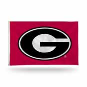 Georgia Oval G Banner Flag