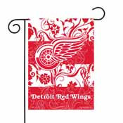 Red Wings Garden Flag 13inch X 18inch