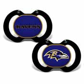 Pacifier (2-Pack) - Baltimore Ravens