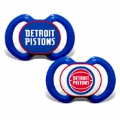 Pacifier (2 Pack) - Detroit Pistons