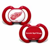 Pacifier (2 Pack) - Detroit Red Wings