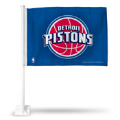 Pistons Car Flag