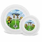 Plate & Bowl Set -Green Bay Packers