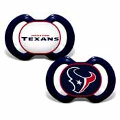 Pacifier (2 Pack) - Houston Texans
