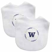 Bibs (2 Pack) - Washington, University of