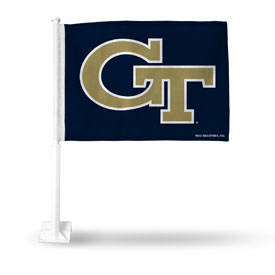 Georgia Tech Car Flag