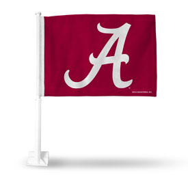 Alabama A Logo Car Flag