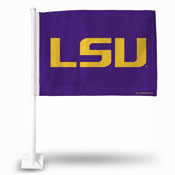 Lsu Lsu Logo Car Flag