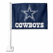 Dallas Cowboys Car Flag Rico