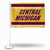 Central Michigan Car Flag