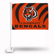 Cincinnati Bengals Car Flag Rico