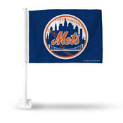 Mets Blue Car Flag