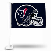 Houston Texans Helmet Car Flag