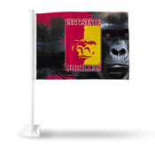 Pittsburg State Car Flag Bkg