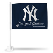 New York Yankees Wordmark Car Flag