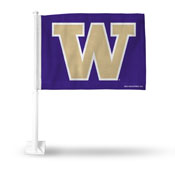Washington Purple Car Flag